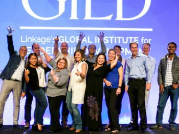 Excited group photo of GILD attendees